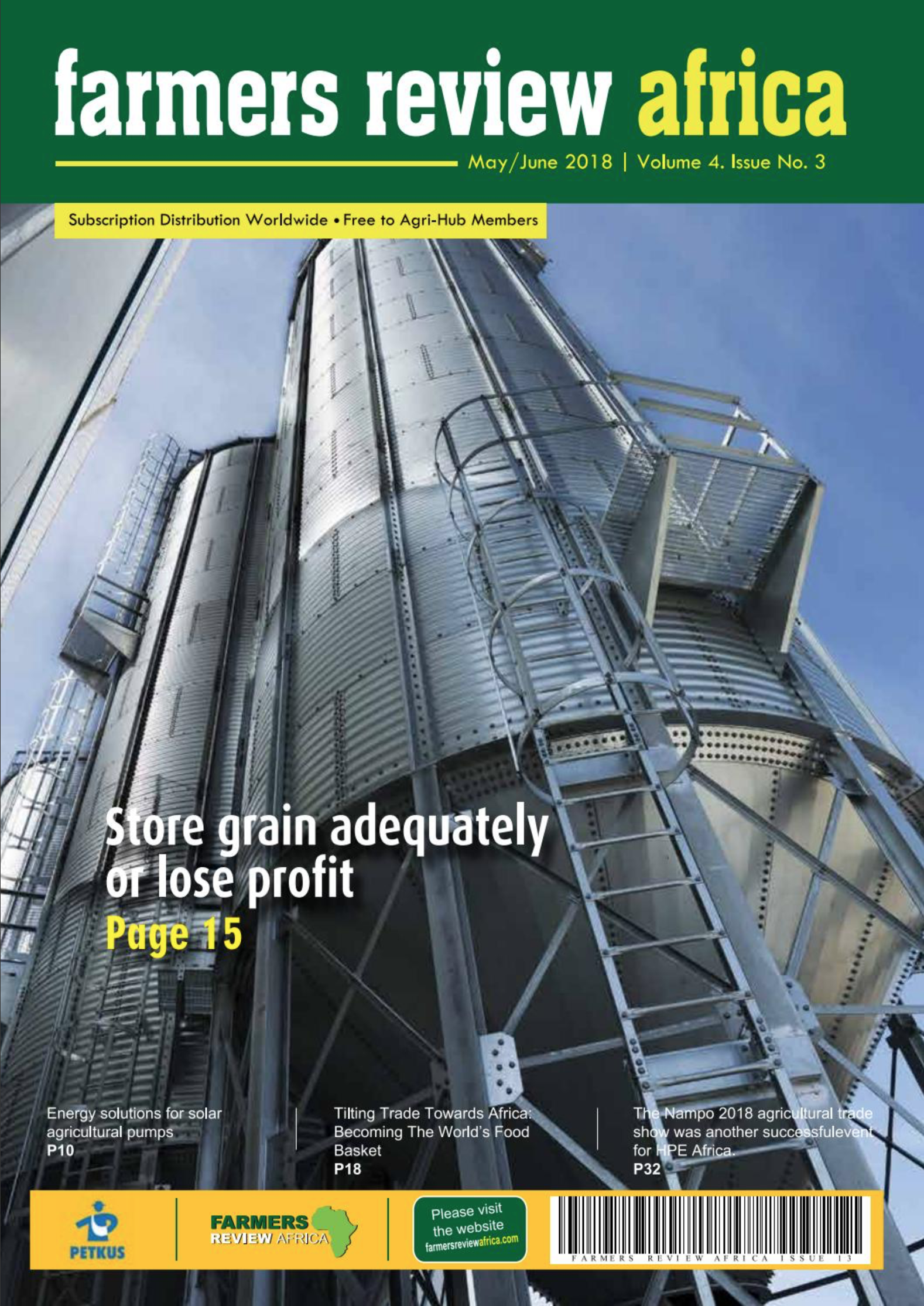 SIMEZA is cover in Farmers Review Africa