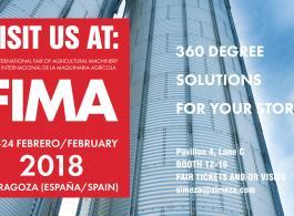 Компания SIMEZA (Входит в Группу Компаний PETKUS) примет участие в 40-й выставке FIMA в Сарагосе