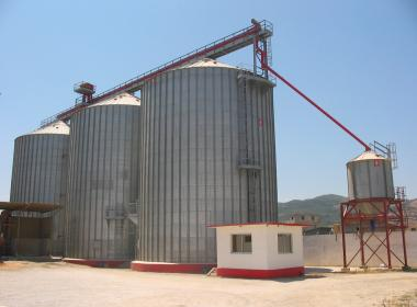 3 Flat Bottom Silo in Skikda (Algeria)