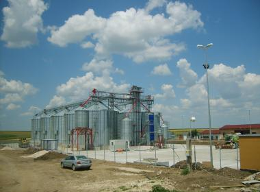 10 Flat Bottom Silo in Constancia (Romania)