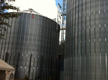 2 Flat Bottom Silo in Thika (Kenya)