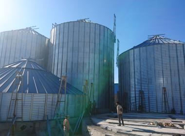 12 Flat Bottom Silo in Mazandaran-Amir Abad Port (Iran)