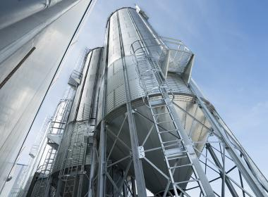 6 Hopper Silos 45º in Spain