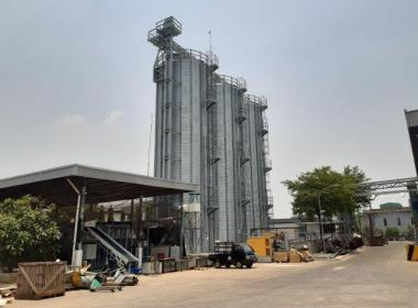 3 hopper bottóm silos in Philippines