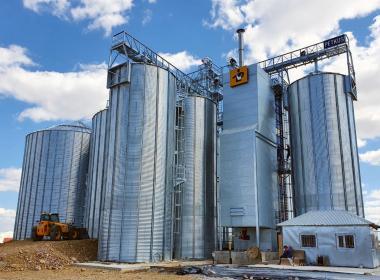 5 silos in Kazakhstan