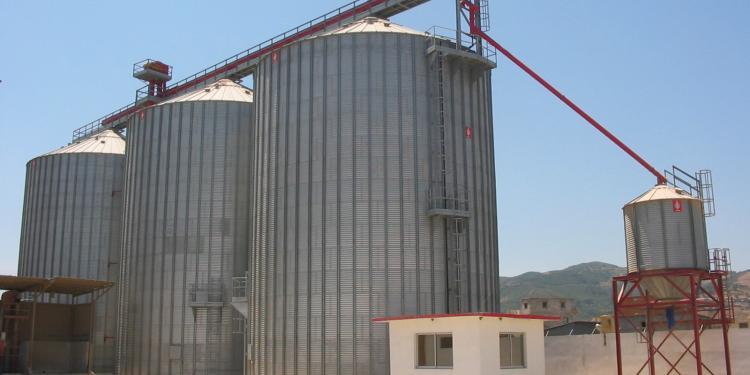 3 Silos de Base Plana en Skikda (Argelia)