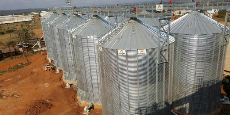 10 Silos de Base Plana en Mozambique